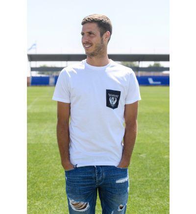 Camiseta Blanca Escudo CDLeganés