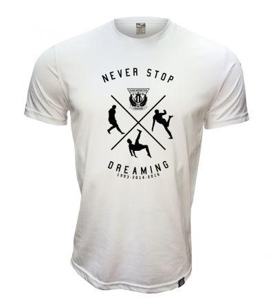 Camiseta CDL Algodón Never Stop Dreaming