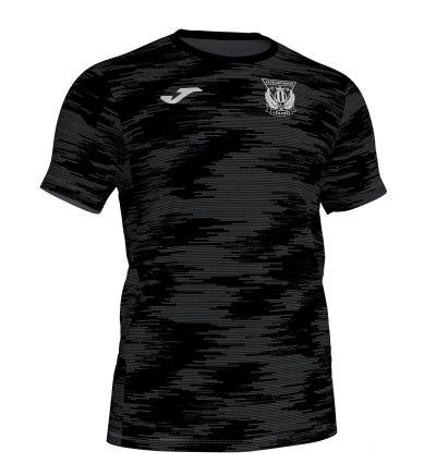 Camiseta PrePartido C.D. Leganés Negra 2019/20