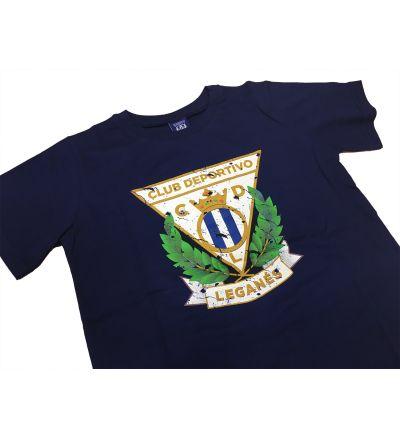 Camiseta Niño Escudo Color CDLeganés