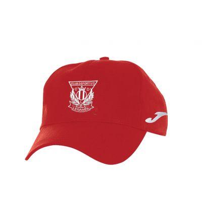 Gorra Roja Joma C.D. Leganés