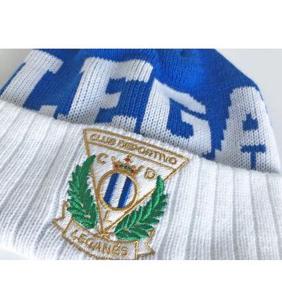 Gorro 'Lega' Azul C.D. Leganés